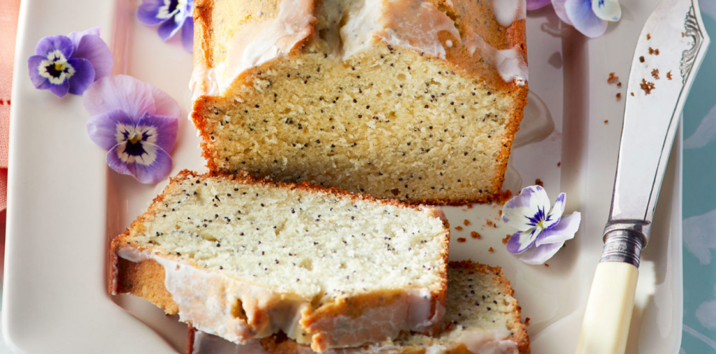 Almond and Poppy Loaf Cake